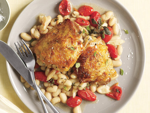 Chicken and White Beans